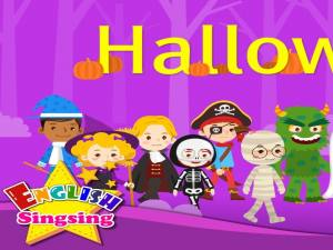 Kids vocabulary - Halloween - Halloween monster costumes - English educational video for kids - YouTube