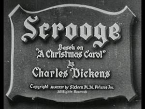 SCROOGE (1935) - Full Movie - Captioned - YouTube (1:00:57)