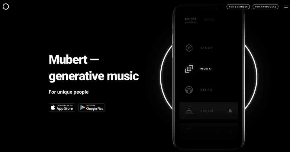 Mubert AIがつくるジェネレーティブミュージック(生成音楽)の新時代