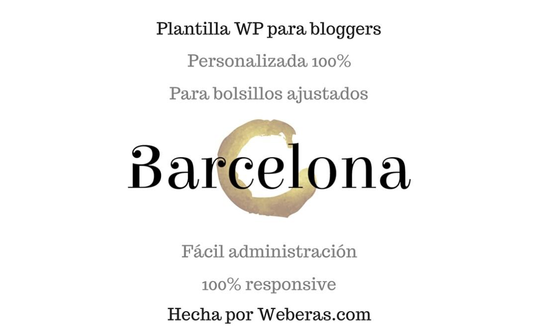 Plantilla para bloggers y youtubers