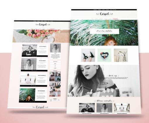 Blogger dulce + ecommerce