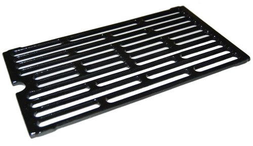 Music City Metals 61271 Gloss Cast Iron Cooking Grid Replacement for Select Gas Grill Models by Chargriller, Jenn-Air and Others