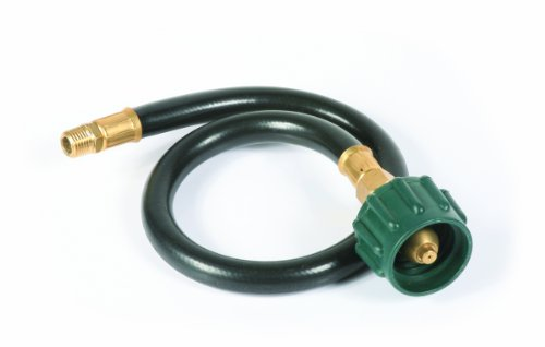 Camco 59843 20″ Pigtail Propane Hose Connectors – Acme x 1/4″ Male NPT