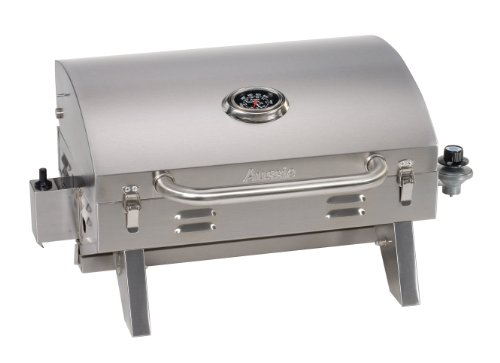 Aussie 205 Stainless Steel Tabletop Gas Grill