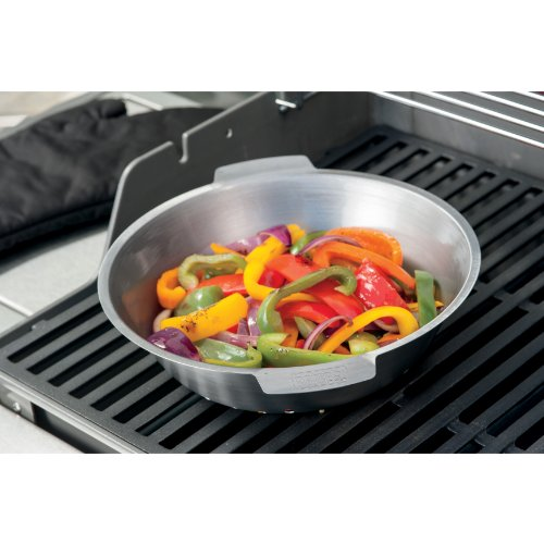 Weber 6687 Essentials Stainless Steel Round Grill Basket