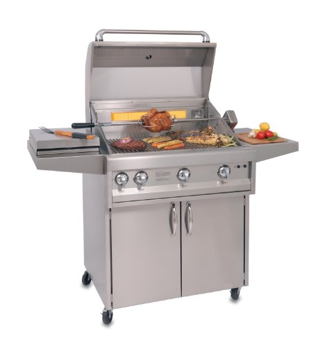 Artisan ARTC-32 Stainless Steel Cart for 32-Inch Grill