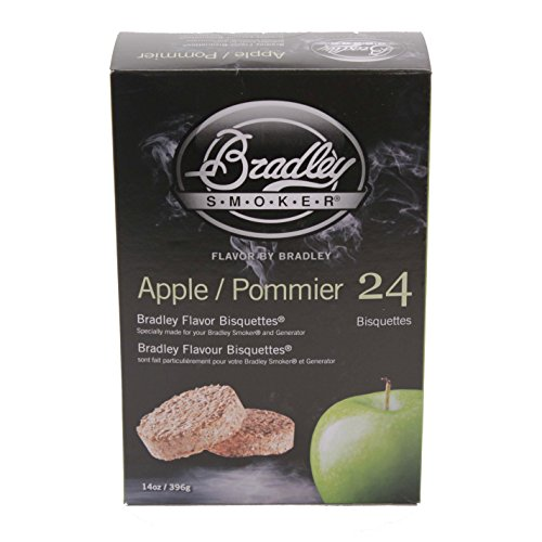 Bradley Smokers Bisquettes, Apple, 24-Pack
