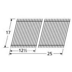Porcelain Wire Stainless Steel Cooking Grid for Great Outdoors and Vermont Castings Grills