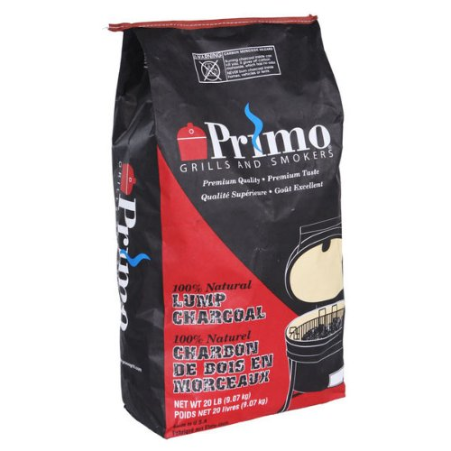 Primo 608 Natural Lump Charcoal, 20-Pound bag