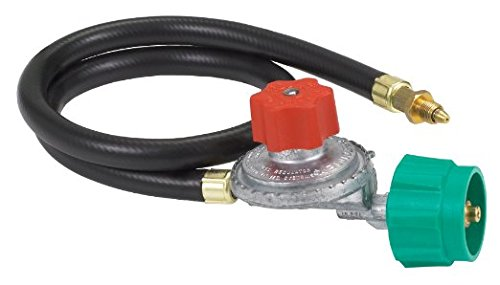 Bayou Classic High Pressure Hose, Regulator & Valve Assembly
