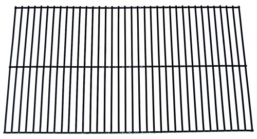 Music City Metals 55801 Porcelain Steel Wire Cooking Grid Replacement for Select Gas Grill Models by Charbroil, Kenmore and Others