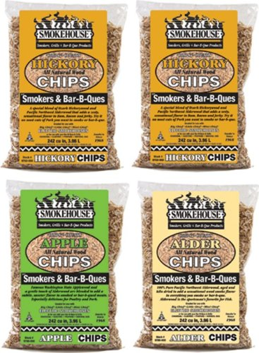 Smokehouse Products Assorted Chips, 4-Pack