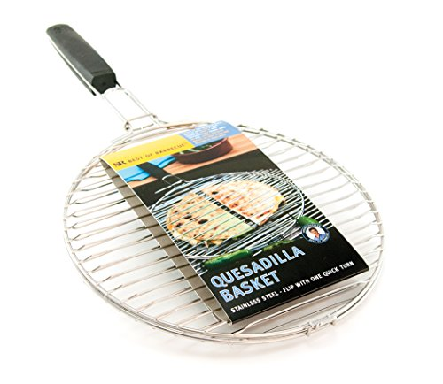 Steven Raichlen Best of Barbecue Stainless Quesadilla Basket – SR8167