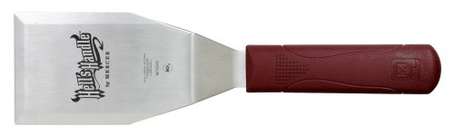 Mercer Culinary Hell's Handle M18340 Large 18/8 Stainless Steel Square Heavy Duty Turner