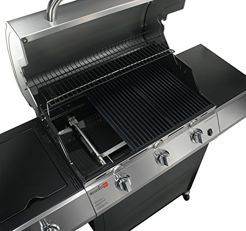 Char-Broil Performance TRU Infrared 480 3-Burner Gas Grill with Side Burner