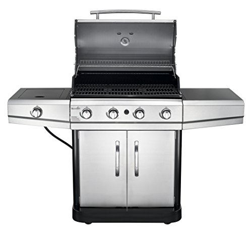 Char-Broil Classic 480 48,000 BTU 4-Burner Gas Grill with Side Burner