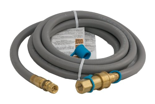 Weber # 42902 10′ Natural Gas Hose Kit w/ 1/2″ QD Fitting
