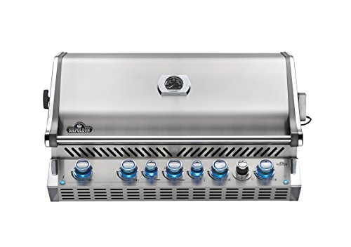 Napoleon BIPRO665RBPSS Built-In Prestige PRO Propane Grill, Stainless Steel