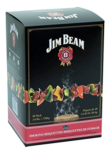 Jim Beam BTJB48 Smoking Bisquettes, 48 Count