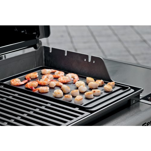 Weber 7597 Porcelain-Enameled Cast Iron Griddle for Spirit 200 Series