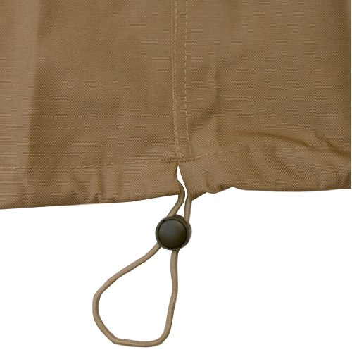 Classic Accessories 55-046-042401-00 Hickory Heavy Duty Square Smoker Cover, Large