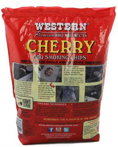WESTERN 38066 6-Pack Cherry Smoking Chips
