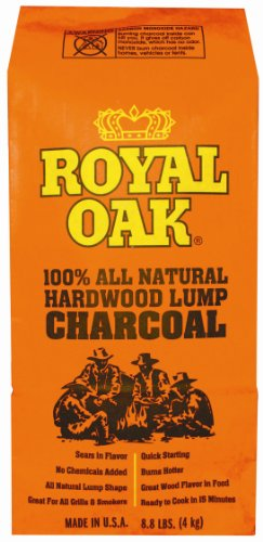 Royal Oak 195228071 Lump Charcoal, 1/8.8-Pound
