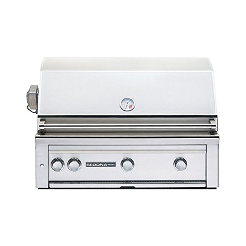 Lynx L600PSR Sedona 36-Inch Built-In Propane Grill with Pro Sear Burner and Rotisserie