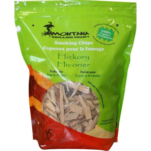 Montana Grilling Gear SC220-DEH Gear Smoking Wood Chips, Hickory