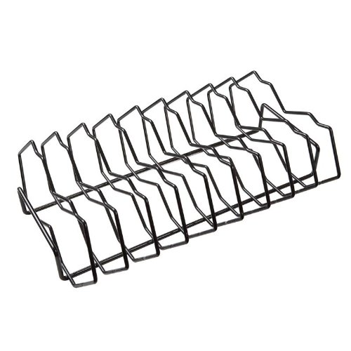 Primo Grills Premium Rib Rack in Metallic Finish