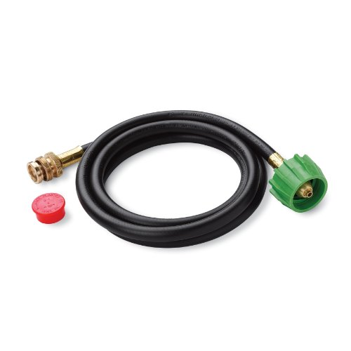 Weber 6501 Adapter Hose for Weber Q-Series and Gas Go-Anywhere Grills, 6-Feet