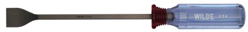 Wilde Tool 516.NP/CC Clam Card Gasket Scraper with 1-Inch Face, 11-Inch, Natural Finish