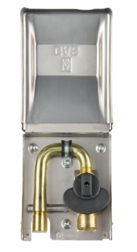 Gas Plug G0101-SS-50 Gas Outlet Box with 1/2-Inch Inlet, 3/8-Inch Outlet and Gas Outlet Box and Stainless Steel Enclosure