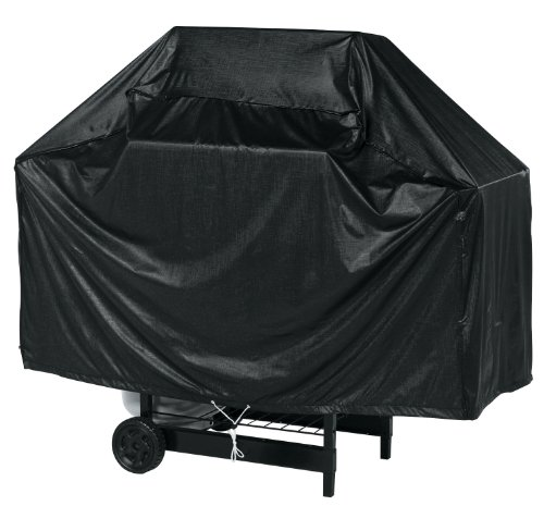 Char-Broil 53″ Full Length Grill Cover – Black Vinyl