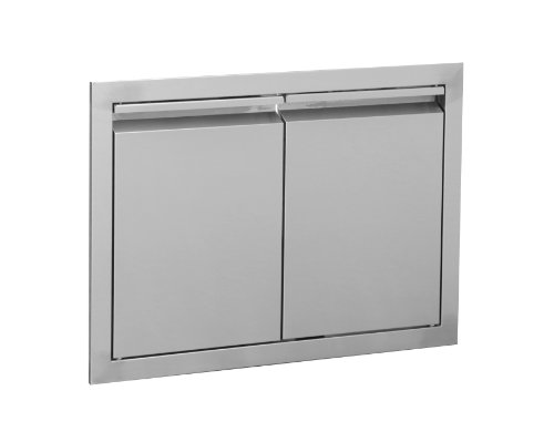 SWISS GRILL SGDD-3619 Built-In Double Doors, 36-Inch, 304 Stainless Steel