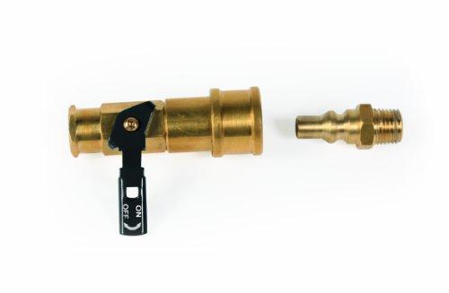 Camco 59853 Propane Quick Connect Kit – Valve & Full Flow Plug