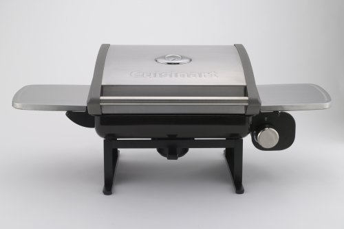 Cuisinart CGG 200 All Foods 12,000 BTU Portable Outdoor Tabletop Propane Gas  Grill