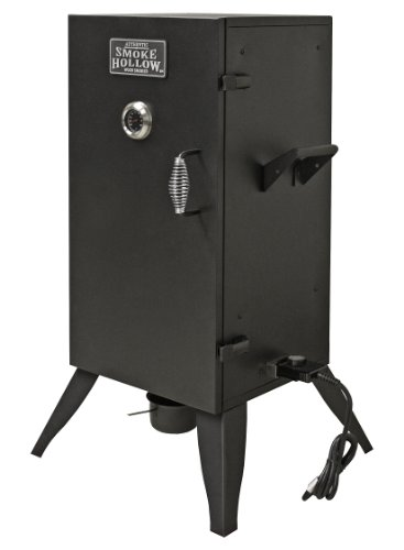 Smoke Hollow 30162E Electric Smoker, Black