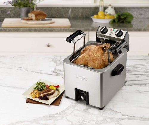 Waring Pro TF200B Rotisserie Turkey Fryer/Steamer