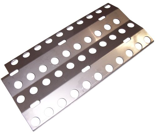 Music City Metals 90361 Stainless Steel Heat Plate Replacement for Select DCS Gas Grill Models