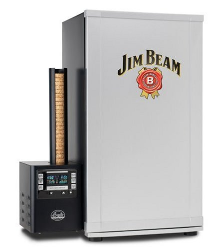 Jim Beam BTDS76JB Bradley Smoker 4-Rack Digital Outdoor Smoker
