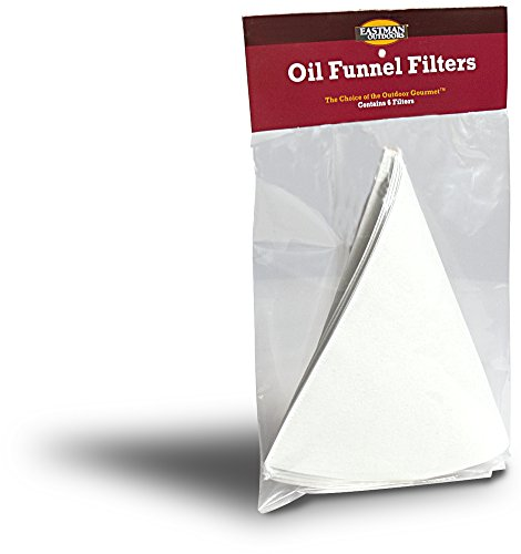Eastman Outdoors 38612 Oil Funnel Filters – 6 Per Bag