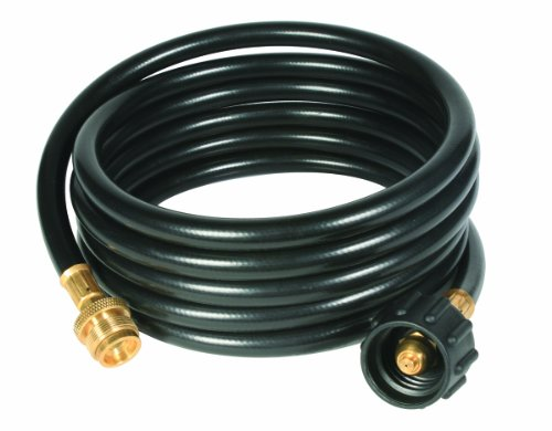 Camco 59825 12′ Propane Hose Assembly – Acme x 1″-20 Male Throwaway Cylinder Thread