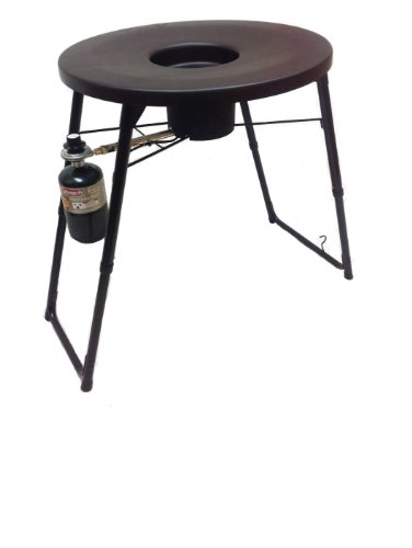 Fryin' Saucer Guys Outdoor Portable Propane Deep Fryer