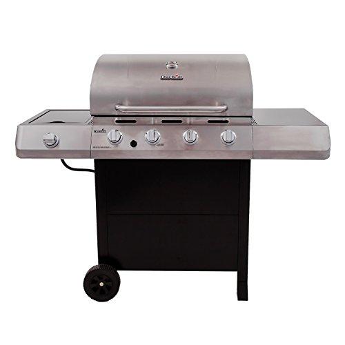 Char-Broil Classic 480 40000 BTU 4-Burner Gas Grill with Side Burner