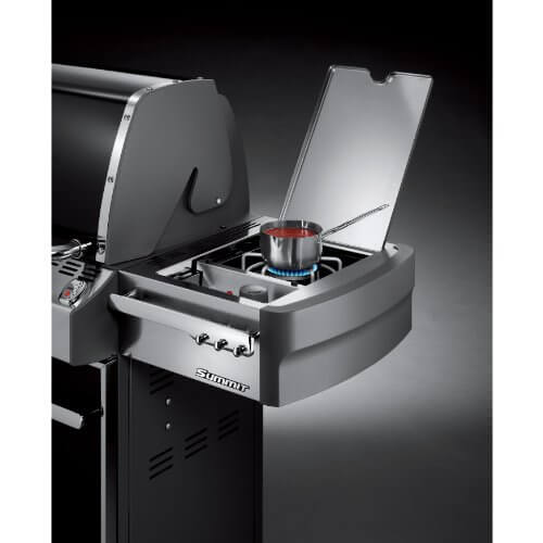Weber Summit 7421001 E-620 838-Square-Inch 60,800-BTU Natural-Gas Grill, Black