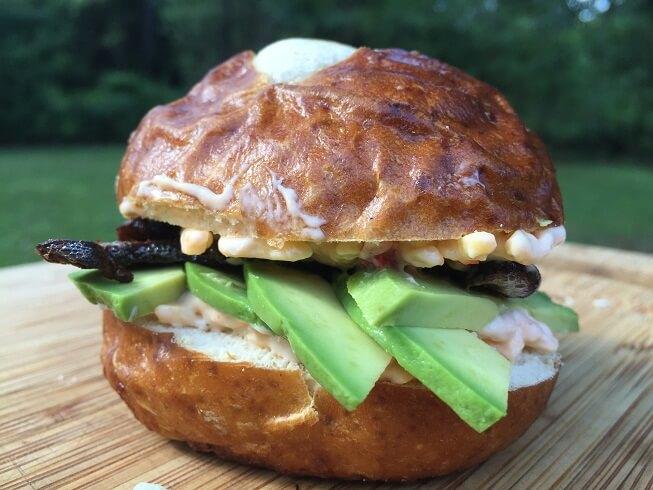 Meatless Monday: Avocado and Mushroom Sandwiches