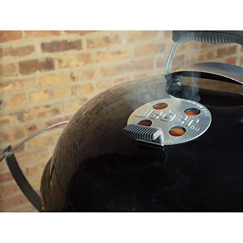 Weber 15402001 Performer Premium Charcoal Grill, 22-Inch, Copper