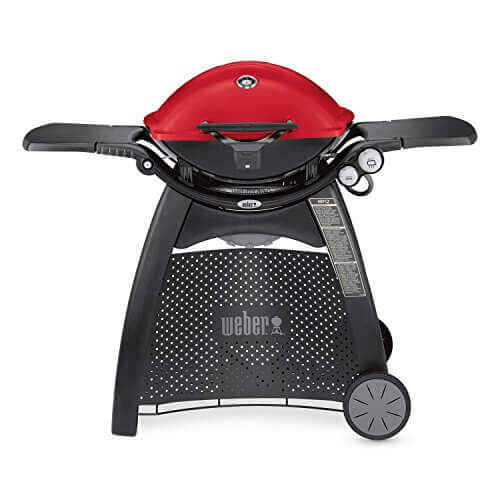 Weber 57040001 Q3200 Liquid Propane Grill, Red