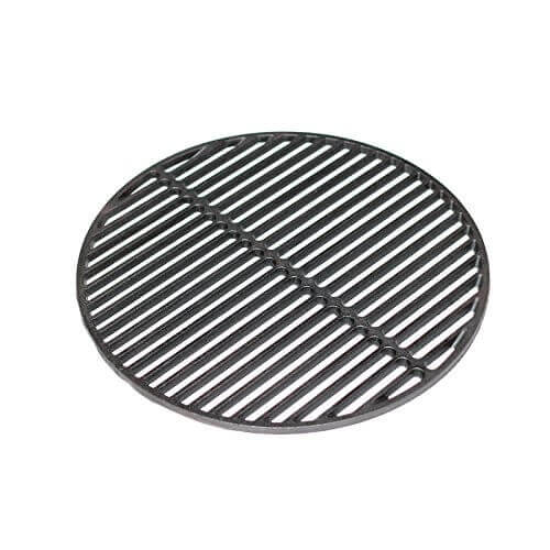 Aura Outdoor Products Cast Iron Dual Side Grid Cooking Grate 18″ for Large Big Green Egg, Kamado Joe